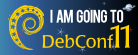 I'm going to DebConf